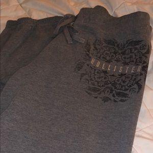 Gray HOLLISTER sweats